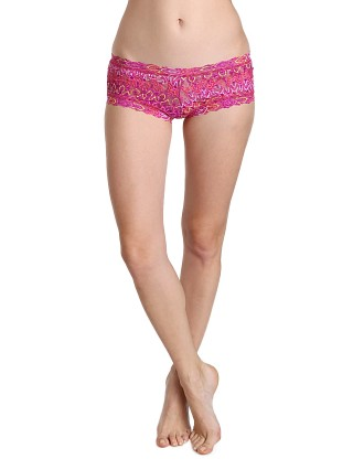 Hanky Panky Flame Boyshort Purple