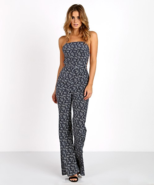 Stone Cold Fox Elle Jumpsuit Navy Freen