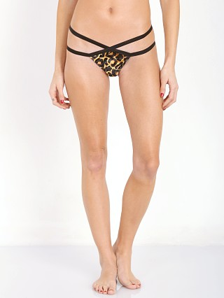 Private Arts Velvet Bite Me Thong Leopard