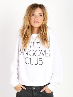 WILDFOX Hangover Club Baggy Beach Jumper