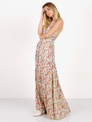 Auguste Helena Maxi Apron Dress Natural