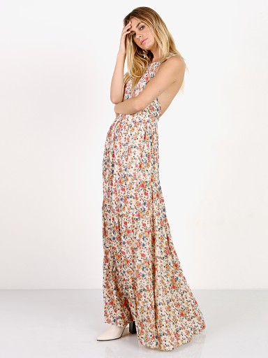 Auguste the Label Helena Maxi Apron Dress Natural