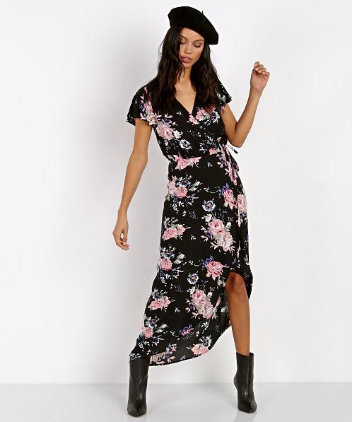 Ella Lace Back Dress - Ivory- Haute & Rebellious