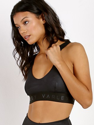 Varley Gale Sports Bra Black Camo