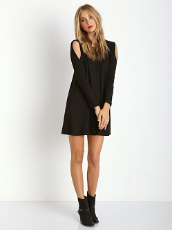 LNA Clothing Lucia Dress Black