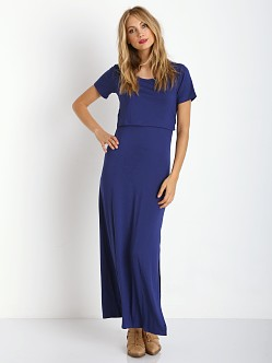 LNA Clothing Whiteley Dress Sapphire