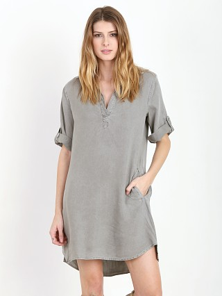 Bella Dahl A Line Dress Spring Moss