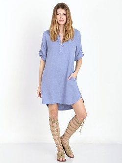 Bella Dahl A Line Dress Indigo Ink
