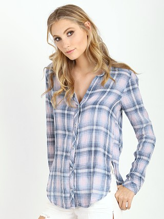 Bella Dahl Long Sleeve Button Down Cloud Wash
