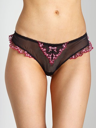 Blush Eden Thong Black Shadow