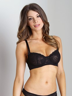 Blush Sinfully Yours Demi Bra Black Shadow