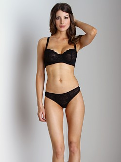 Blush Sinfully Yours Thong Black Shadow