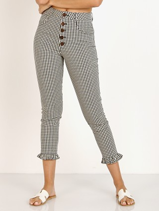 Complete the look: Capulet Etoile Ruffle Bottom Pant Black Gingham