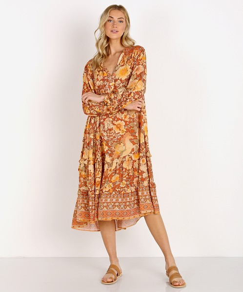 Spell & The Gypsy Amethyst Boho Dress Amber