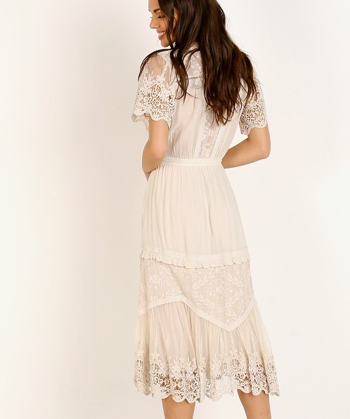 Spell & The Gypsy Maggie Embroidered White
