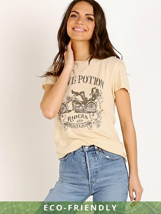 Spell & The Gypsy Love Potion Organic Girlfriend Tee Cream