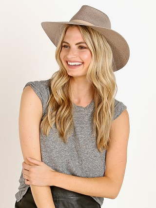 Janessa Leone Valentine Packable Hat Grey