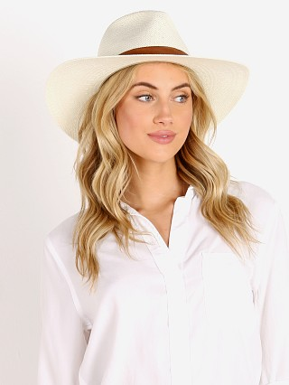 Janessa Leone Michon Packable Hat Bleach