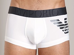 Emporio Armani Big Eagle Microfiber Brief Trunk White