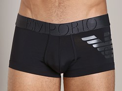 Emporio Armani Big Eagle Microfiber Brief Trunk Black