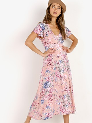 Auguste the Label Dahlia Frill Sleeve Day Dress