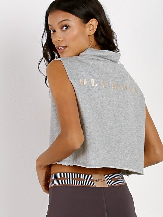 Olympia Activewear Nemea Shirt Crop Heather Grey