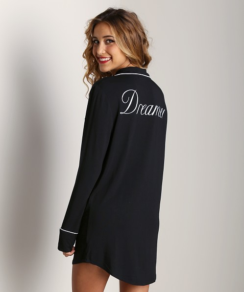 WILDFOX Sleepshirt Dreamer Black
