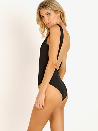 L Space Arizona One Piece Black Rib