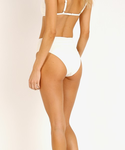 L Space Frenchi Bikini Bottom Cream Rib