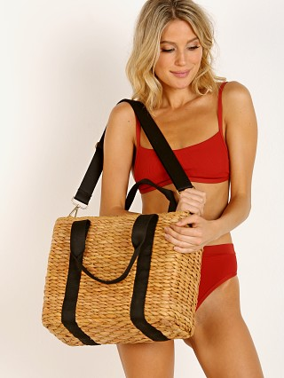 L Space Cameron Cooler Bag Natural Straw
