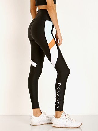 PE NATION Star Force Legging Black and Mint