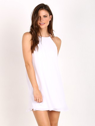 Show Me Your Mumu Gomez Mini Dress White Crisp