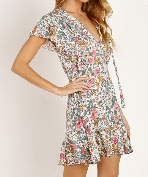 Auguste the Label Spring Rose Wylde Play Dress Natural