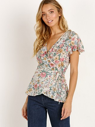 You may also like: Auguste the Label Spring Rose Frill Neck Wrap Blouse Natural