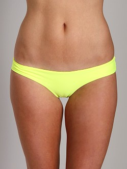 Beach Riot Dudette Bikini Bottom Electric