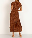 7e6a9aab2f ASTR the Label Beau Maxi Rust Leopard ACDR100274 - Free Shipping at ...