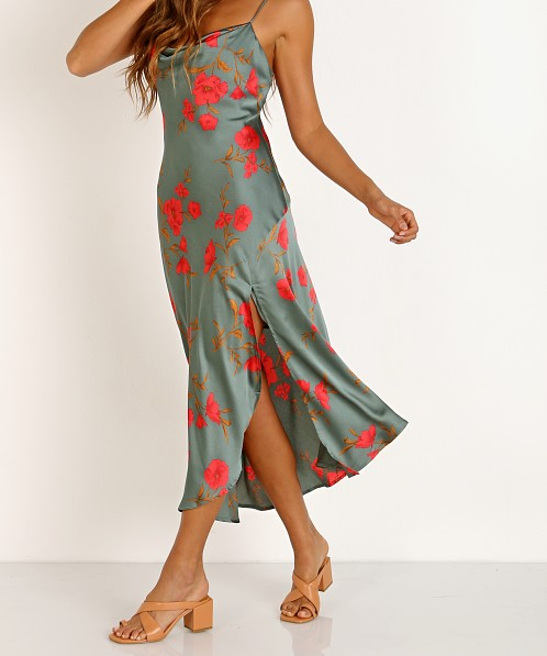 ASTR the Label Gaia Teal Raspberry Floral