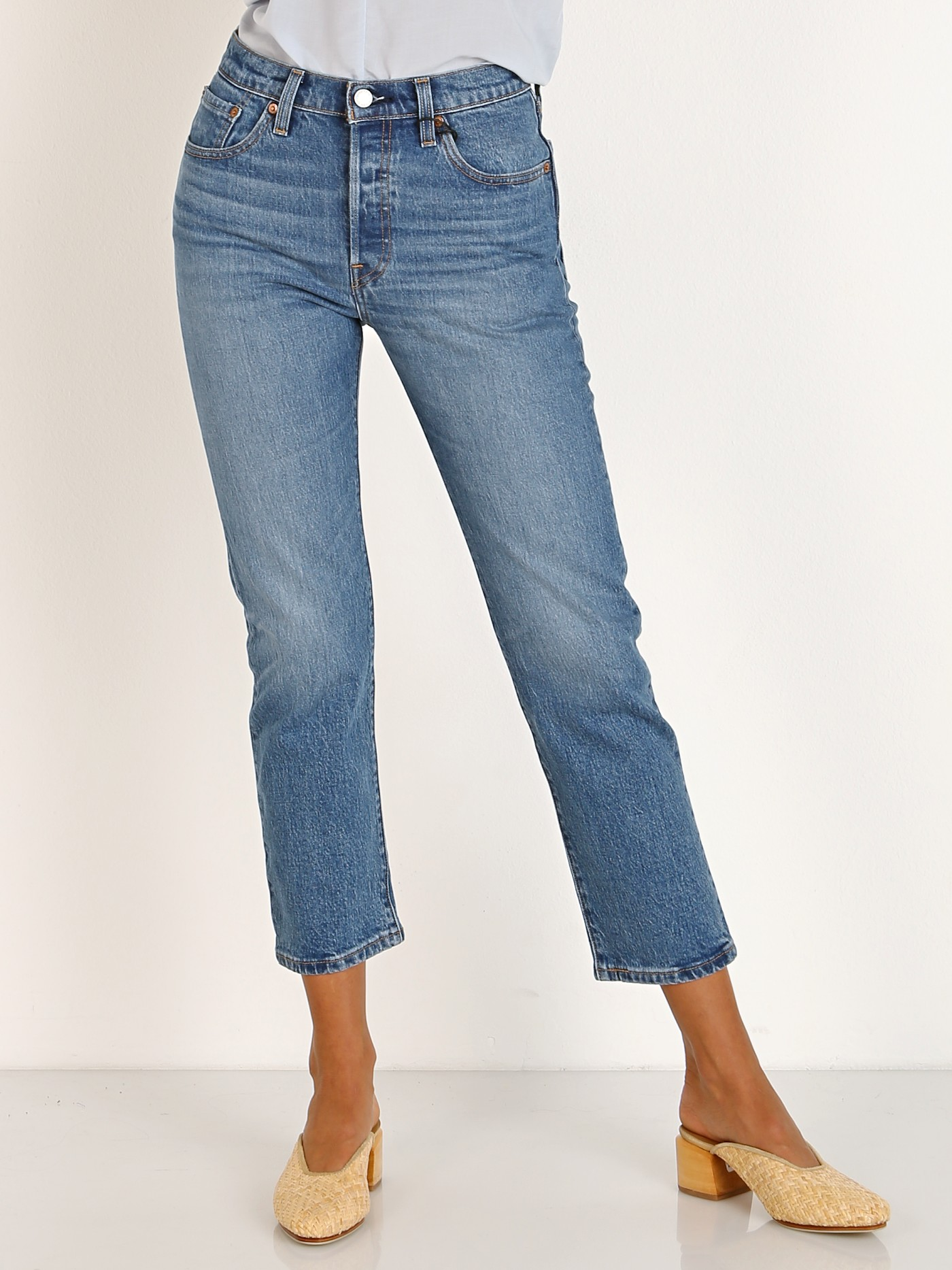 cozy fresh up-to-datestyling latest selection Levi's 501 Crop Jean Jive Song