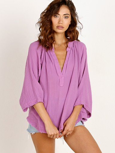 9Seed Marrakesh Dashiki Top Ultra Violet