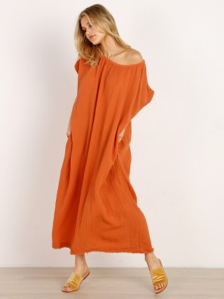 9 Seed Moonstone off Shoulder Caftan Coppertone