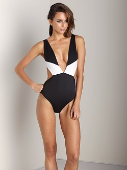 Skye & Staghorn Charlie Full Bikini Black/White