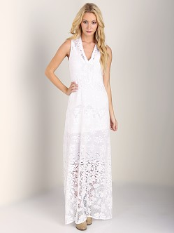Nightcap Bella Beach Gown White