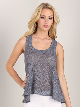 Complete the look: Nightcap Island Waves Crop Tank Charcoal