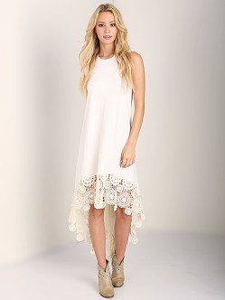 Nightcap Crochet Hanalei Dress Natural