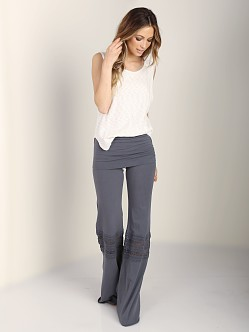Nightcap Foldover Beach Pant Grey