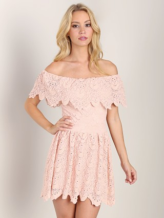 Nightcap Riviera Fit n Flare Soft Peach