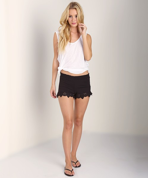 Nightcap Beachside Shorts Black