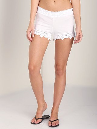 Nightcap Beachside Shorts White