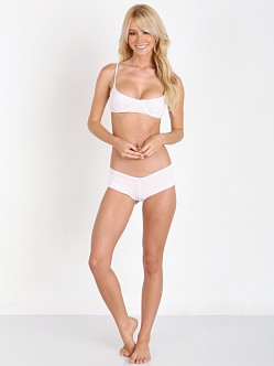 Lolli Swim Cannonball Original Bow Tie Bottom Dot White