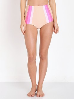 Lolli Swim Sky High Bikini Bottom Nude/Pink